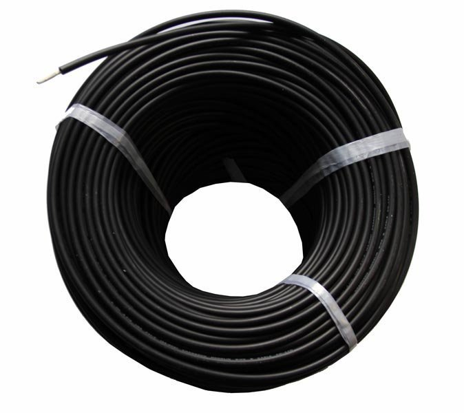 Solar Cable 4mm black