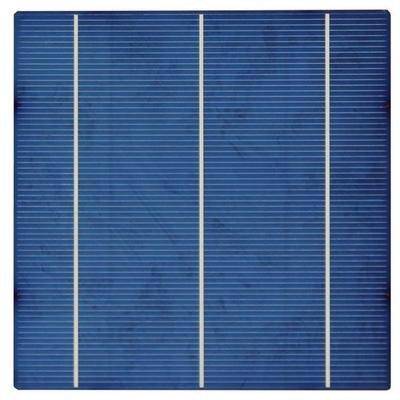 Поликристаллический солнечный элемент батареи