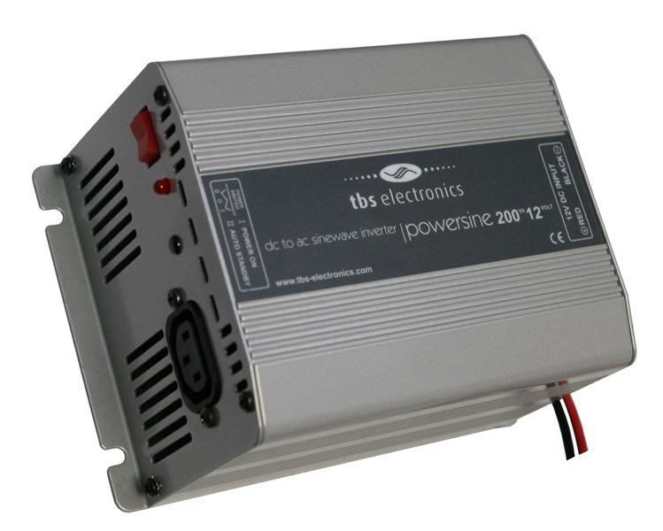 Инвертор синусоидальный 12 В DC / 220 В AC, 175 Вт, производства TBS Electronics Модель: PS200-12.
