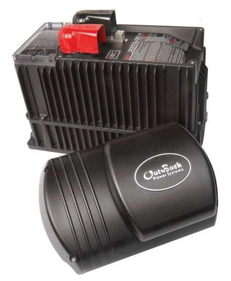 Герметичный инвертор/зарядное устройство 12 В DC / 220 В AC, 2000 Вт, 100 A, производства OutBack Power Technologies...