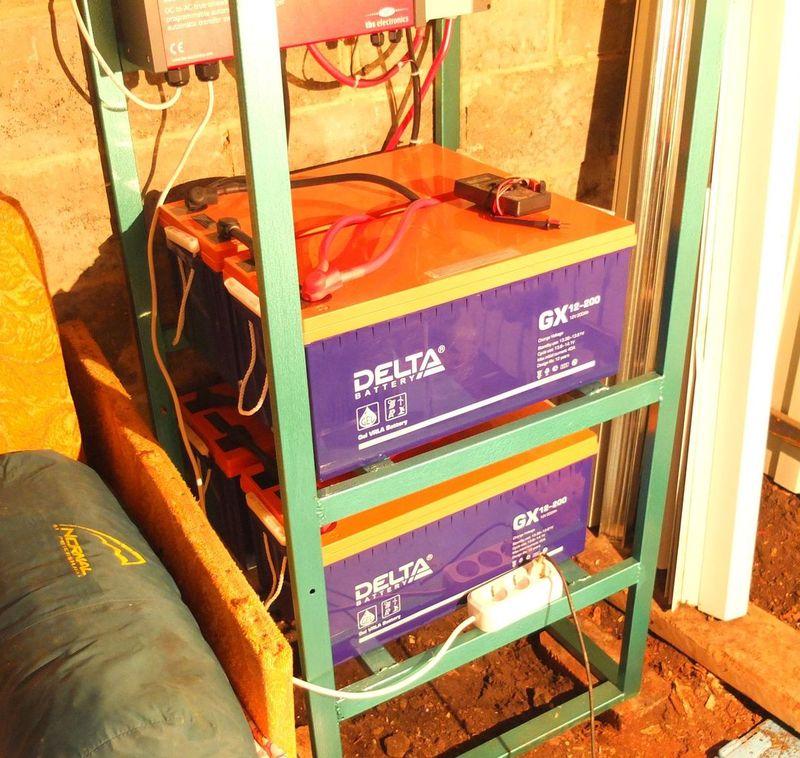 Аккумуляторы Delta GX12-200