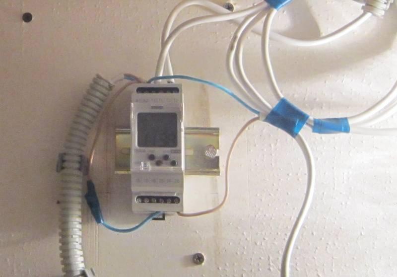 Контроллер солнечных коллекторов ТЭР 9