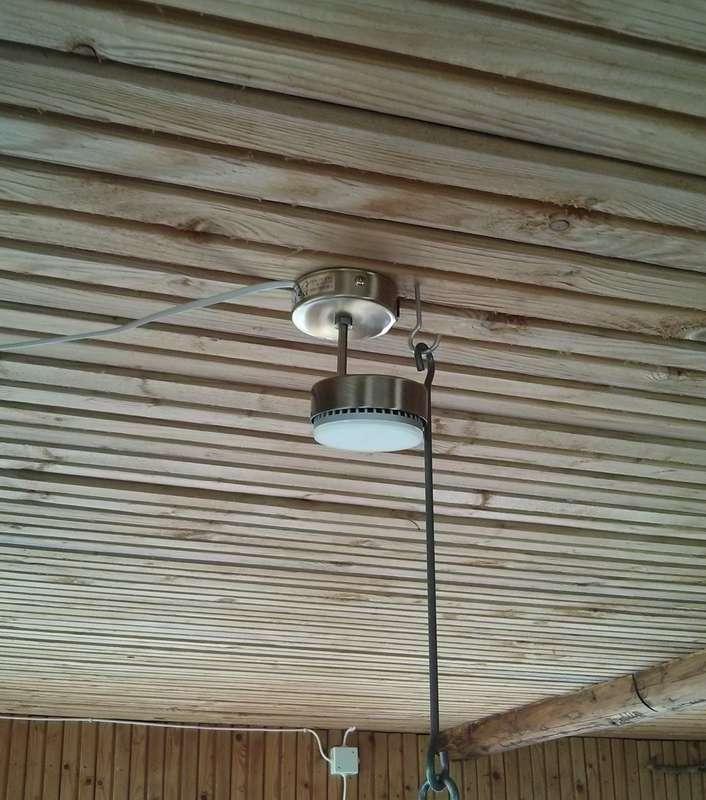 Светильник светодиодный 6 Вт – полностью достаточно, чтобы осветить обеденный стол