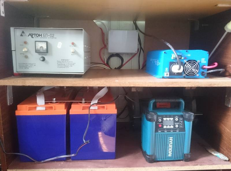 Инвертор Victron, АКБ Delta и зарядники АКБ