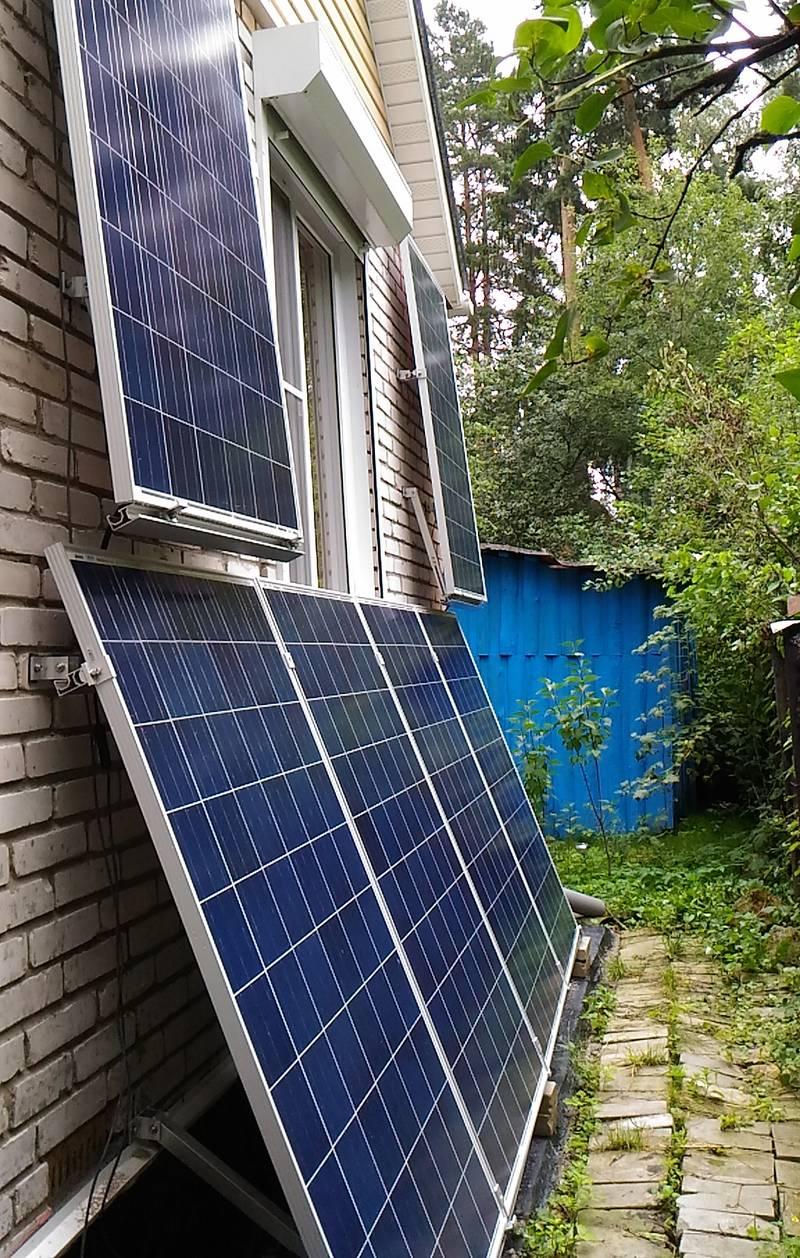 Солнечные панели сетевой солнечной электростанции