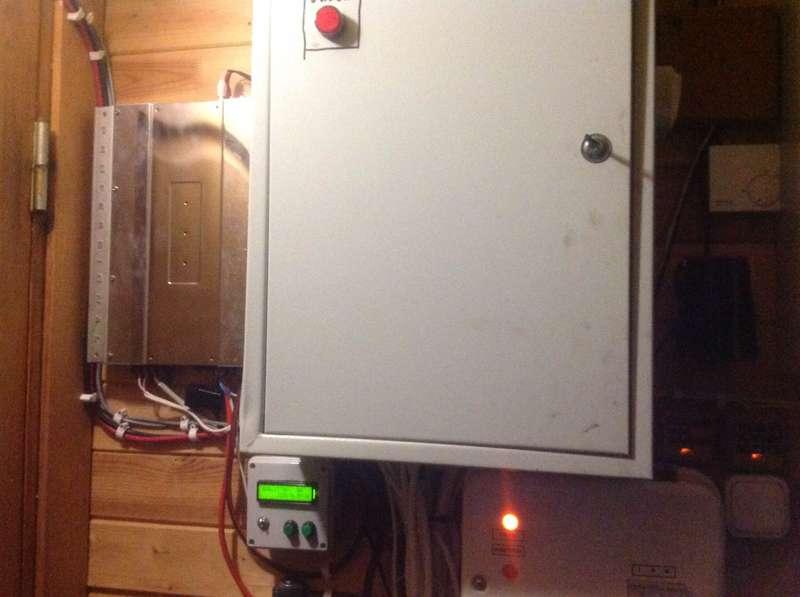 Фото распределительного электрического щита