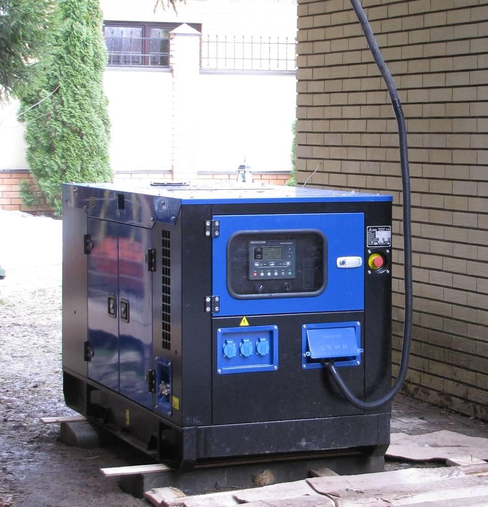 3-х фазный дизельный генератор