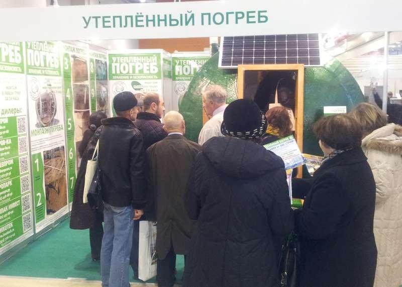 Солнечная батарея Chinaland Solar Energy установлена на погребе
