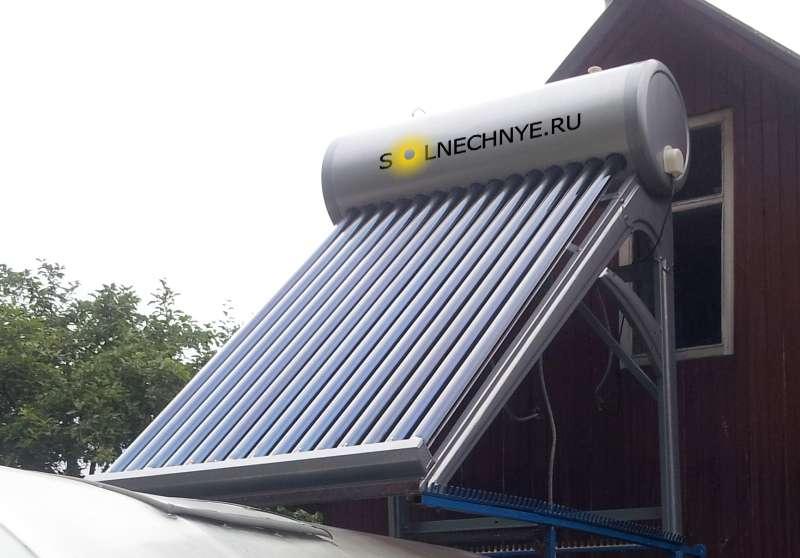Солнечная батарея для душа своими руками