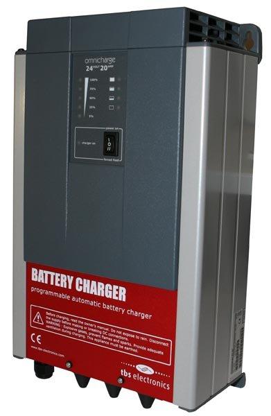 Зарядное устройство для гелевых и AGM аккумуляторов 24 В, 20 А, модель Omnicharge 24-20.